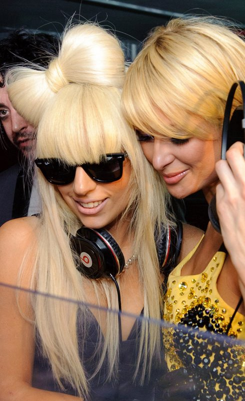lady-gaga-paris-hilton1
