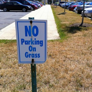 When are you going to stop cutting the brown grass of PR?